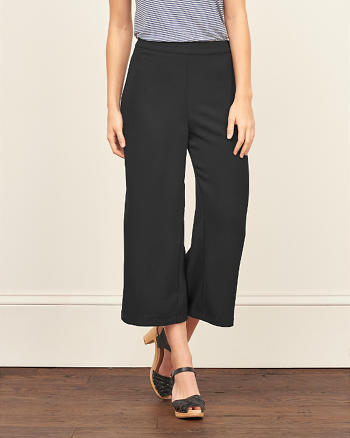 ANF Cropped Wide Leg Pant