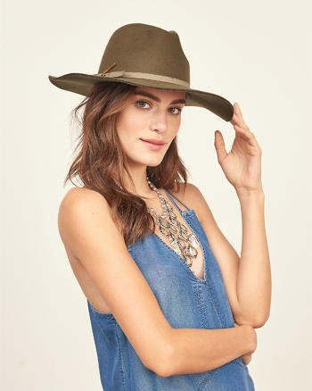 ANF Felt Floppy Hat