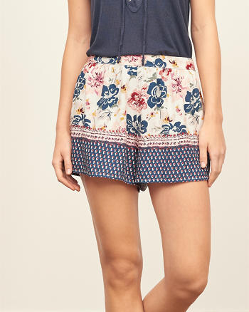 ANF Patterned Soft Shorts