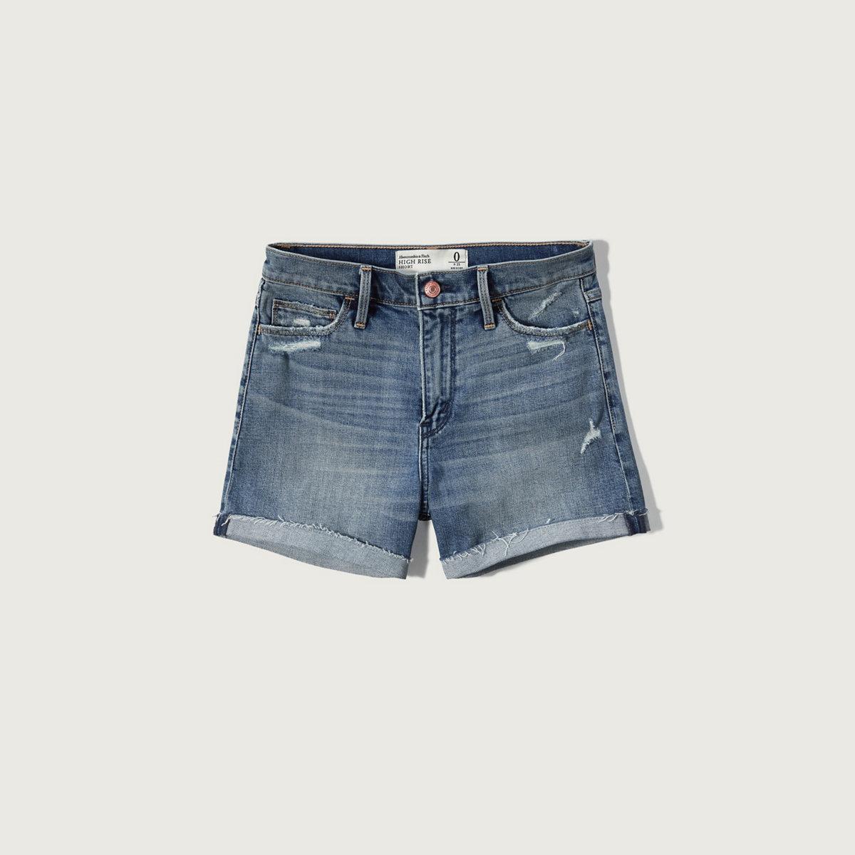 High Rise 4 Inch Shorts