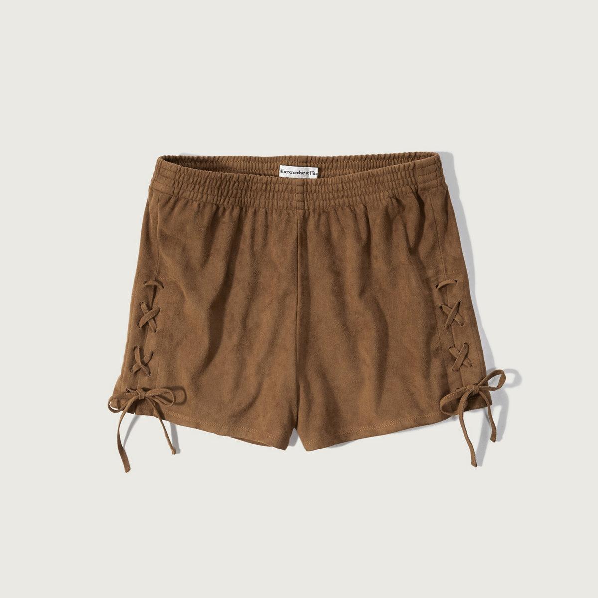 Faux Suede Soft Short
