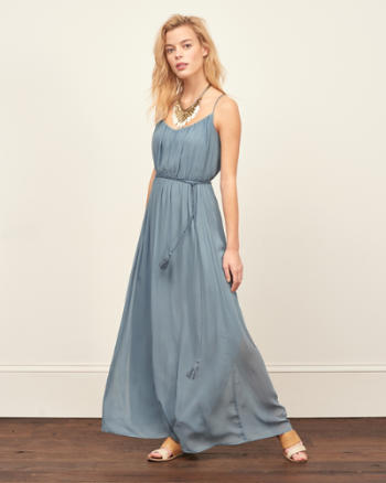 ANF Chiffon Maxi Dress