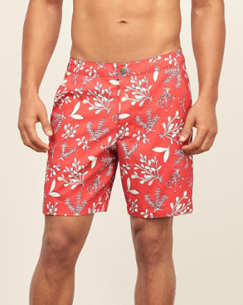 Mens 7'' Tailored Trunk Fit Shorts