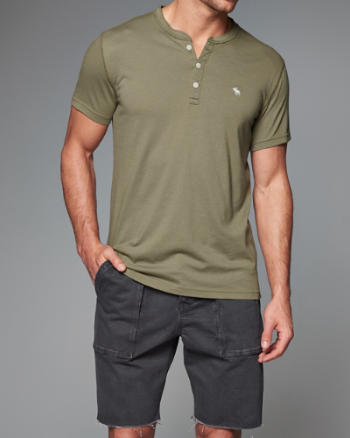 Mens Iconic Henley