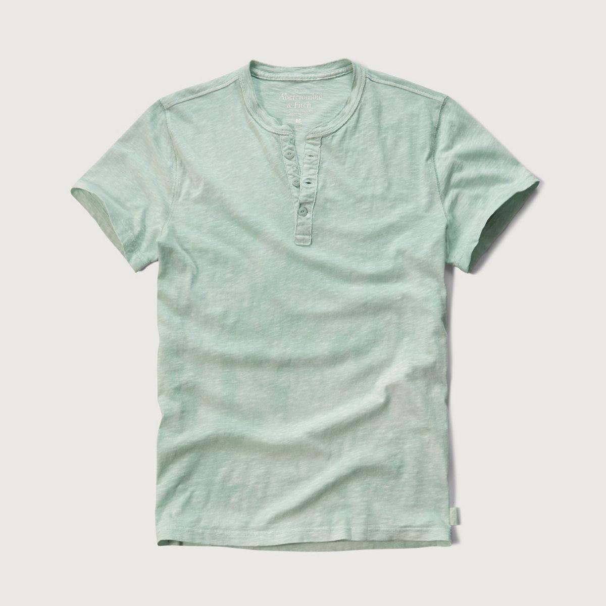 Slub Garment Dye Henley