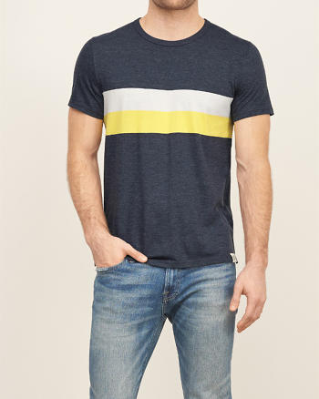 ANF Chest Stripe Tee