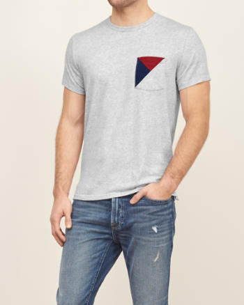 ANF Nautical Pocket Tee