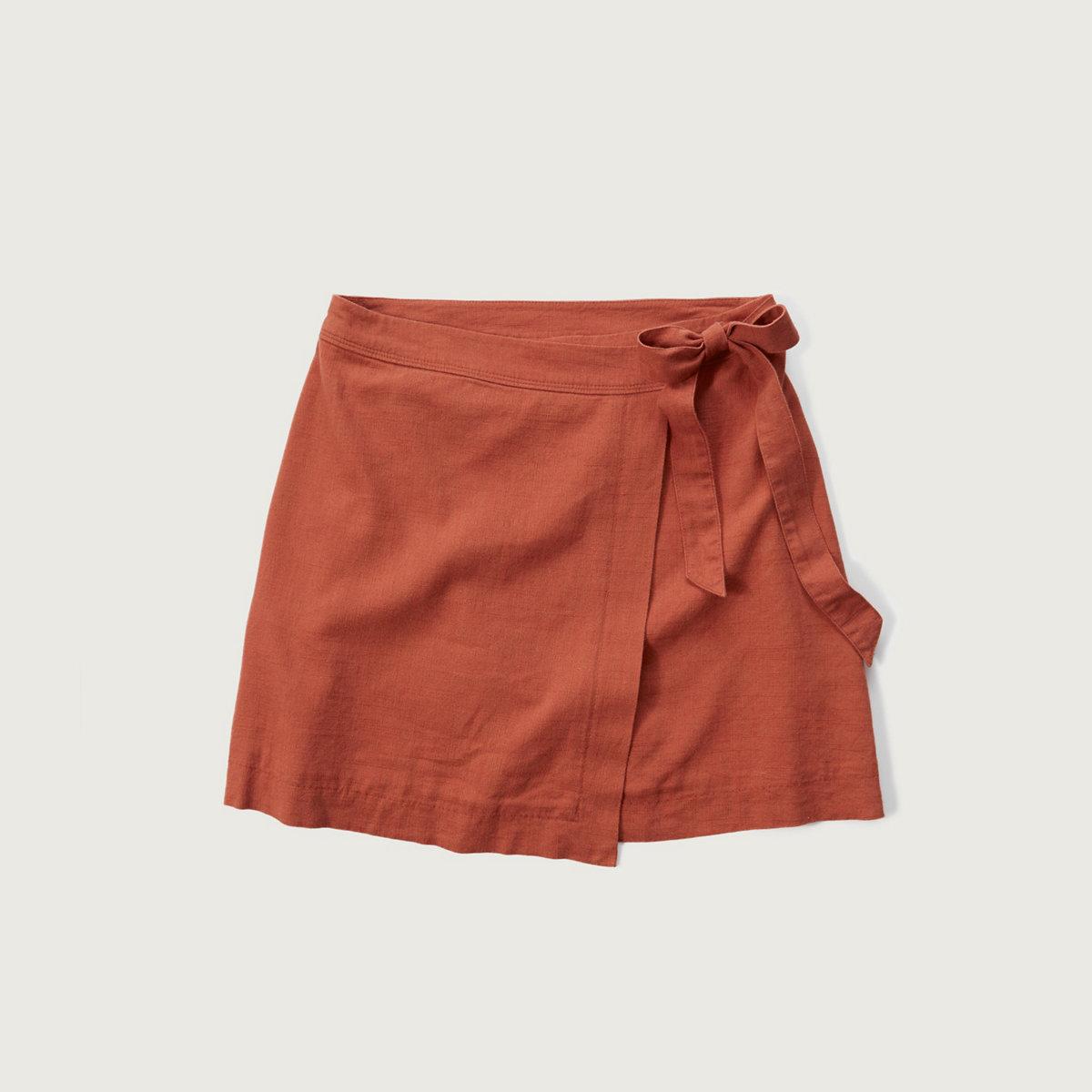 A-Line Wrap Skirt