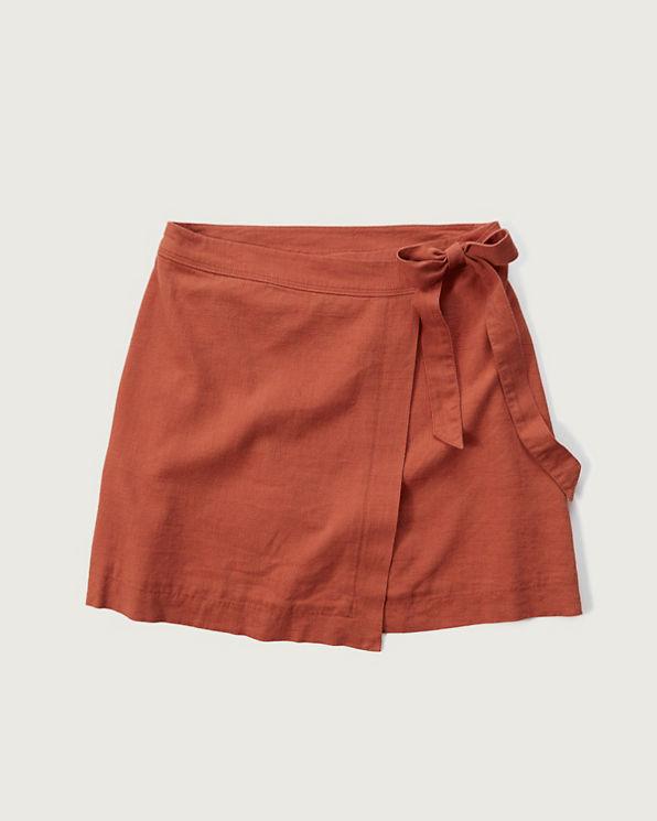 womens a line wrap skirt womens new arrivals