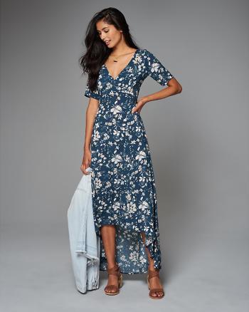 ANF Floral Maxi Dress