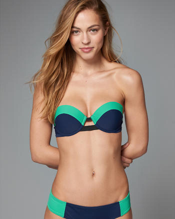 ANF Push Up Bandeau Swim Top