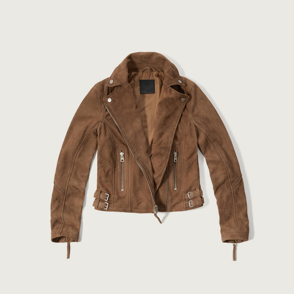 Genuine Suede Biker Jacket