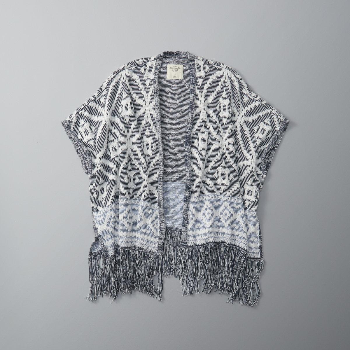 Patterned Kimono Sweater