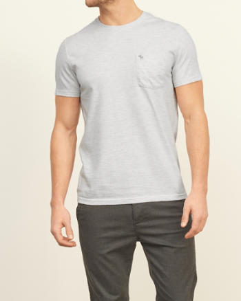 Mens Iconic Pocket Tee