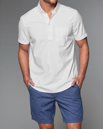 ANF Oxford Pullover Shirt