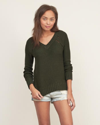 Womens Easy Sweater