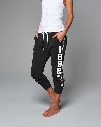 ANF Logo Graphic Joggers
