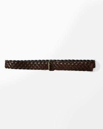 ANF Braided Leather Belt