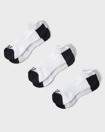 ANF Multi-Pack Contrast Ankle Socks