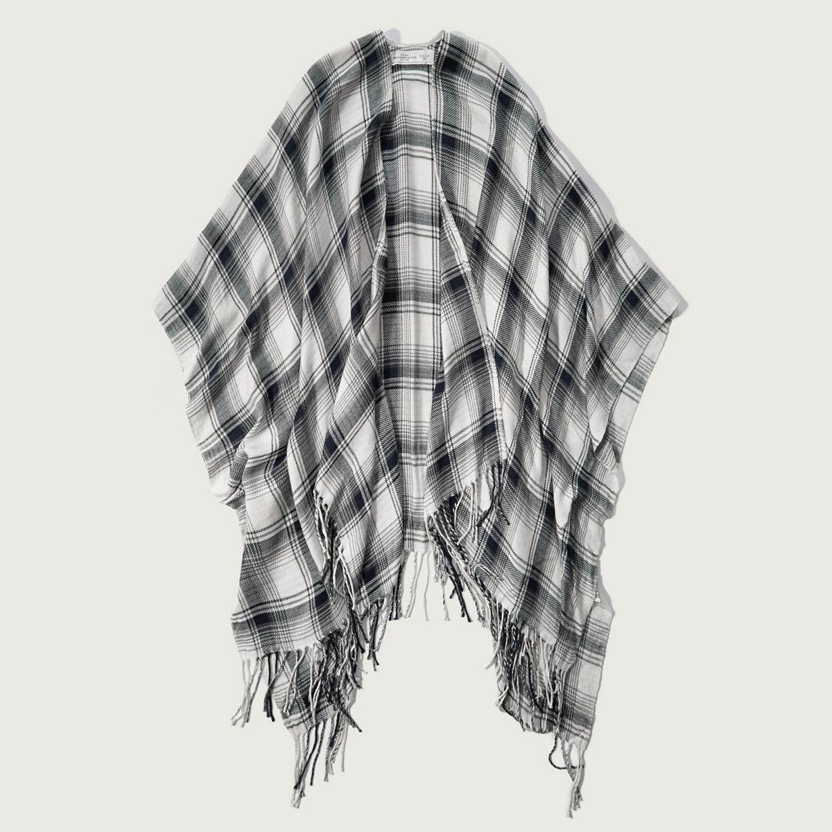 Drapey Blanket Poncho
