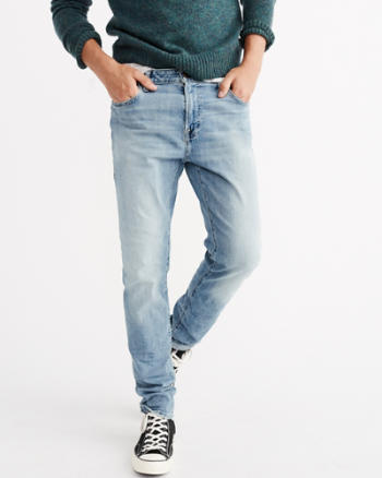 Mens Athletic Skinny Everyday Jeans