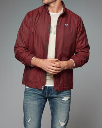 Red Abercrombie Jacket