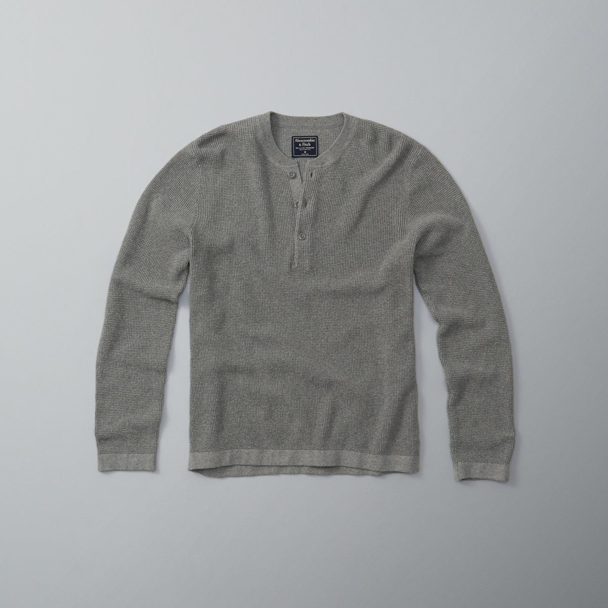 Waffle Henley Sweater