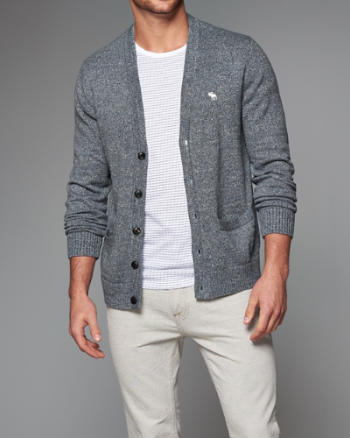 Mens Iconic Cardigan