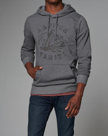 Mens South Pacific Graphic Hoodie