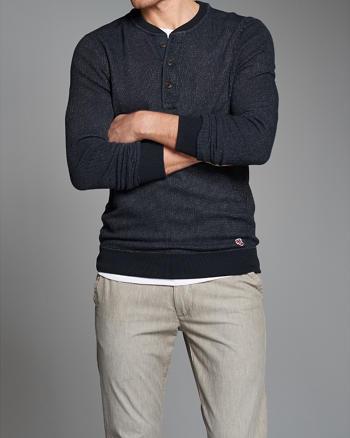 ANF Henley Sweatshirt