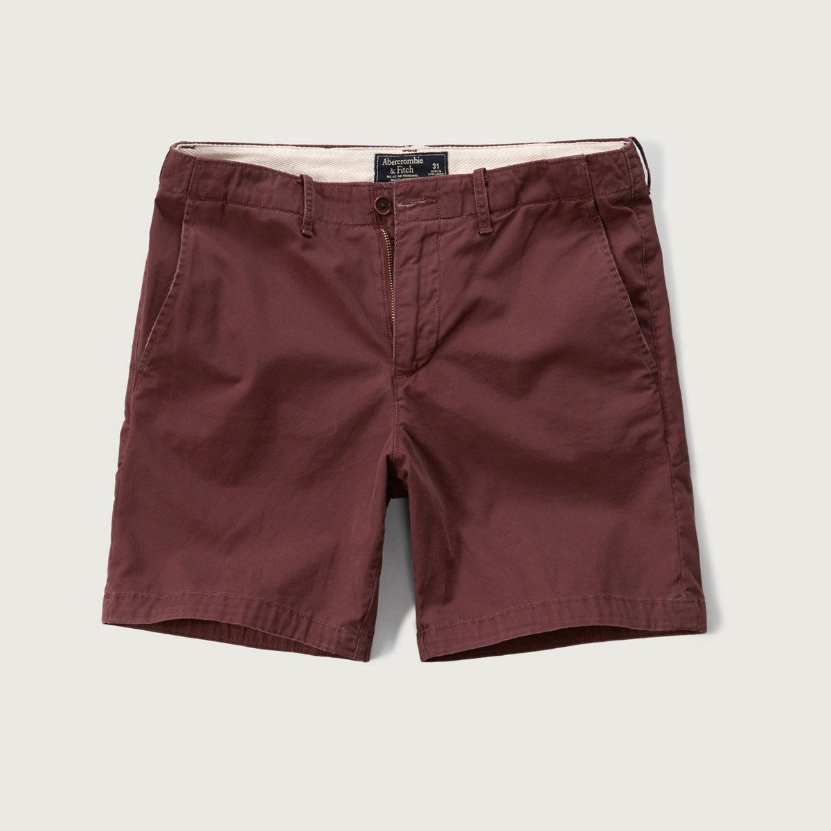 A&F Preppy Fit Shorts