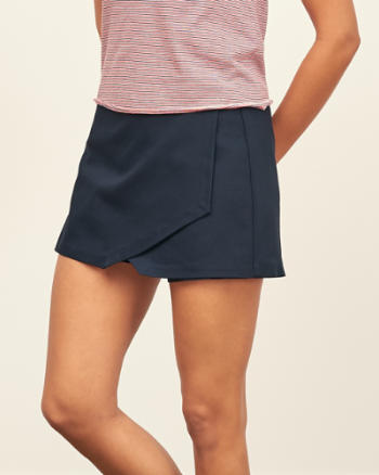 ANF Structured Skort