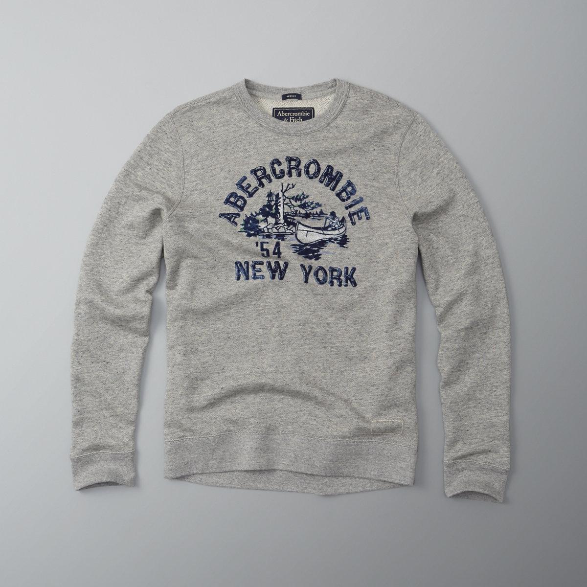 Camp Logo Crew Sweatshirt