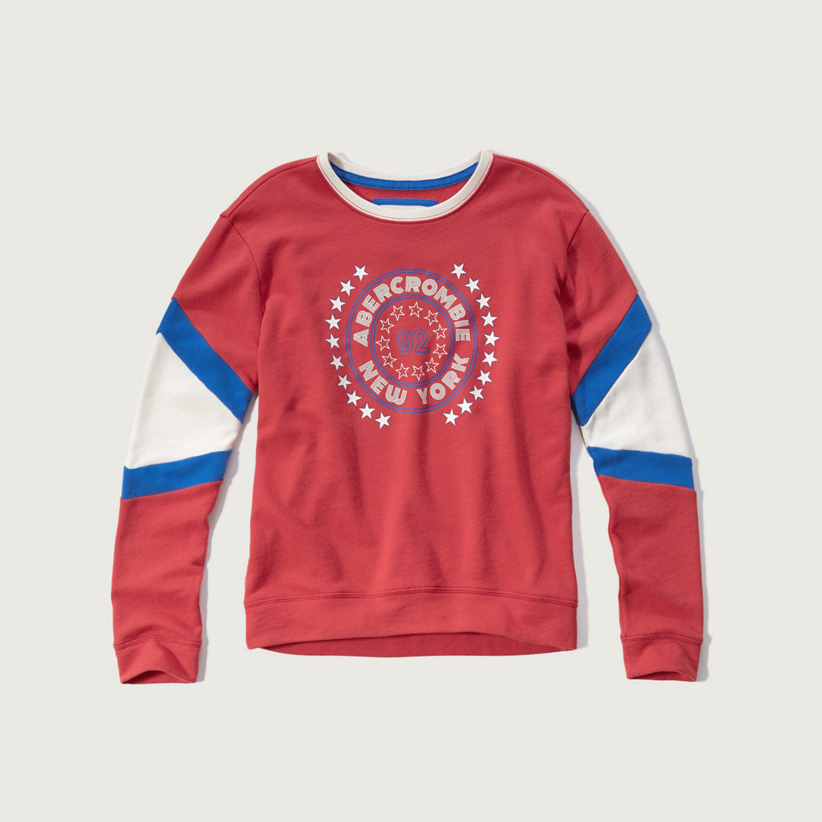 Colorblock Logo Graphic Sweatshirt