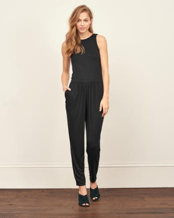 Womens Ladder Back Jumpsuit