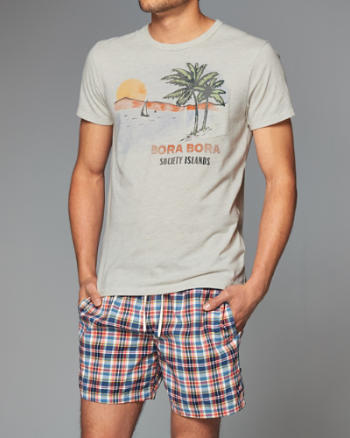 Mens Island Graphic Tee
