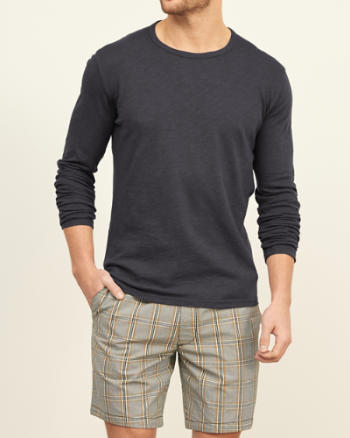 Mens Long-Sleeve Crew Tee