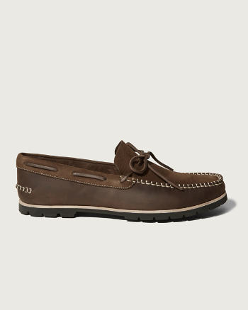 Mens Woolrich Lake House Boat Shoe