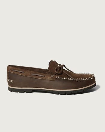ANF Woolrich Lake House Boat Shoe