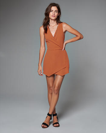 ANF Wrap Front Romper
