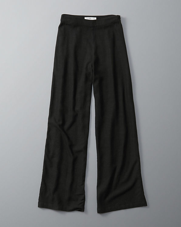 Awesome Wide Leg Linen Pants For Men Enza Costa Linen Wide Leg
