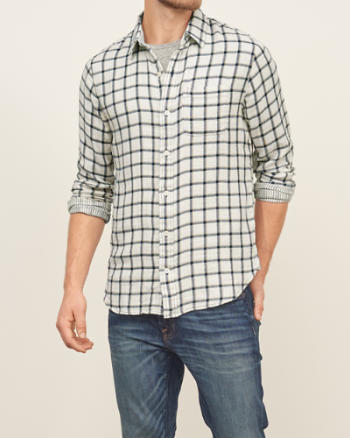 Mens Duofold Pocket Shirt