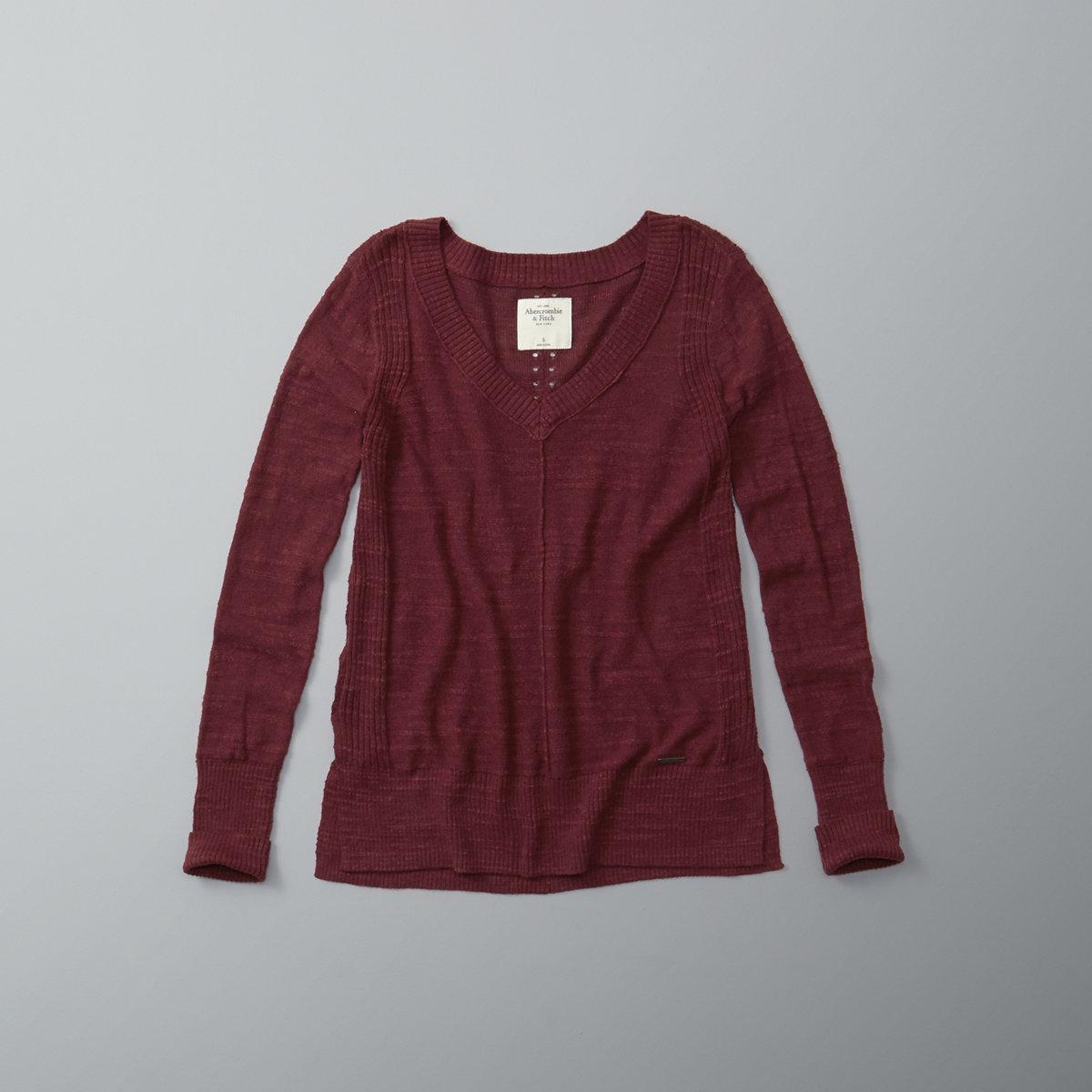 Lightweight V Neck Sweater