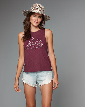ANF Graphic Tank Top