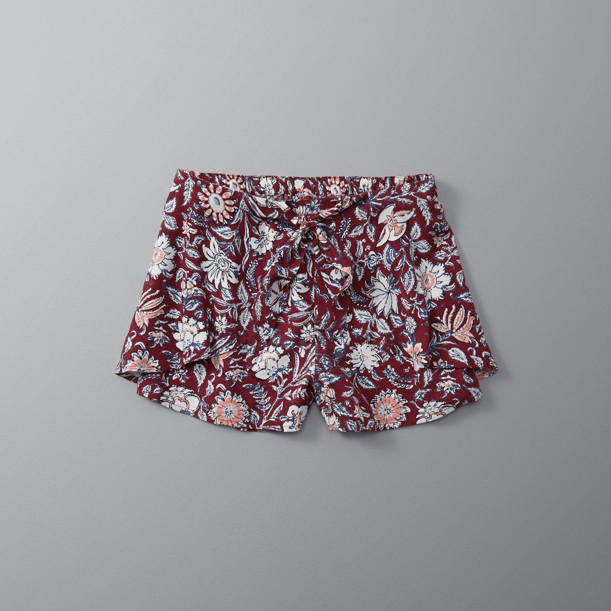 Wrap Front Soft Shorts