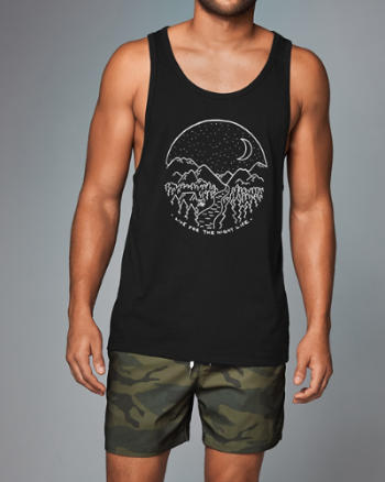 Mens Graphic Tank
