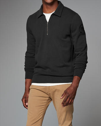 ANF Mock Neck Sweatshirt
