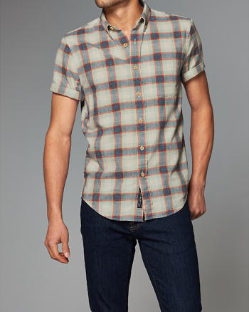 ANF Homespun Chambray Shirt