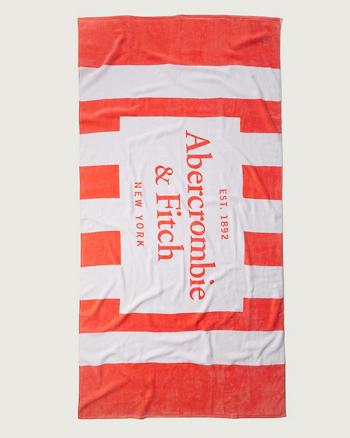 ANF Logo Beach Towel