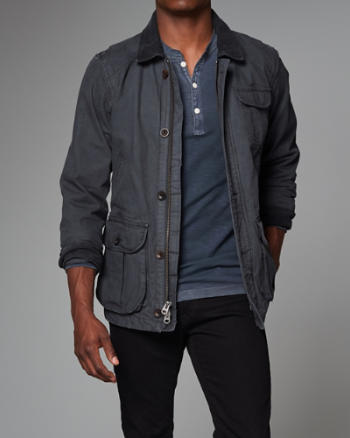 Mens Japanese Canvas Field Jacket